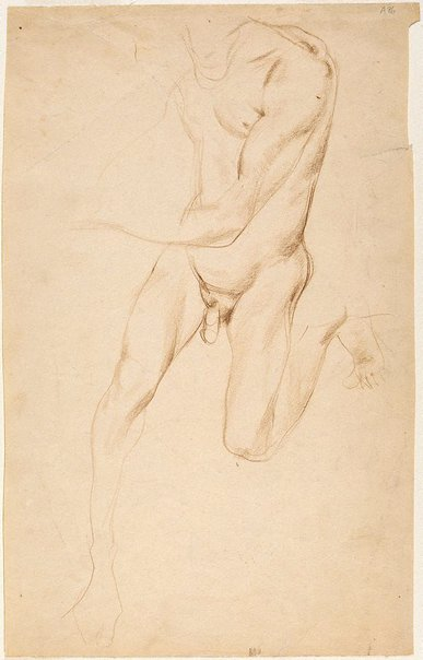 An image of (Nude figure studies) (Student studies) by William Dobell