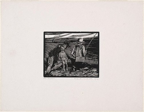 An image of The fishers by Frank Medworth