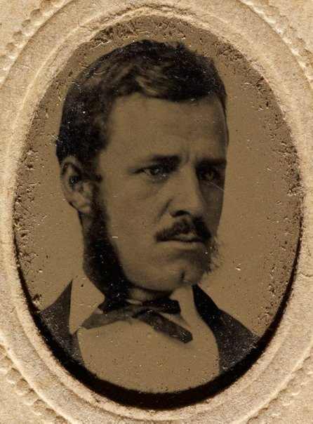 An image of Untitled (male portrait) by Gove & Allen