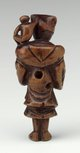 Alternate image of Netsuke in the form of a monkey tamer by