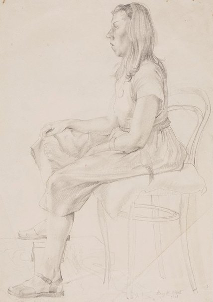 An image of Girl from Miller's Point by Mary Abbott