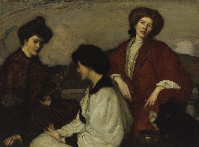 An image of The three kimonos