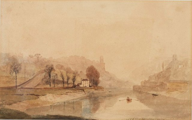 An image of Clifton - river scene