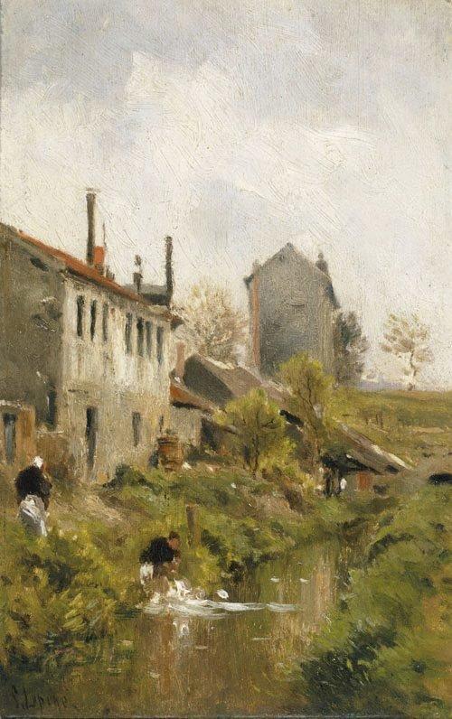 An image of Washerwomen