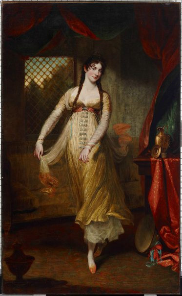 An image of Madame Hilligsberg by John Hoppner