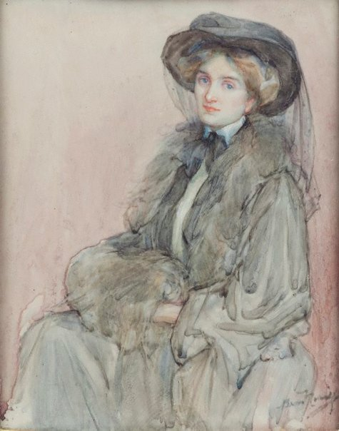 An image of Lydia (Mrs Russell of Chelsea) by Bess Norriss Tait