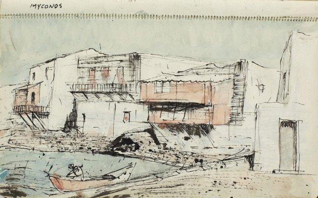 Alternate image of Sketchbook no. 11: Italy, Greece, Paris 1966 by Lloyd Rees