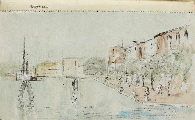 An image of Sketchbook no. 11: Italy, Greece, Paris 1966
