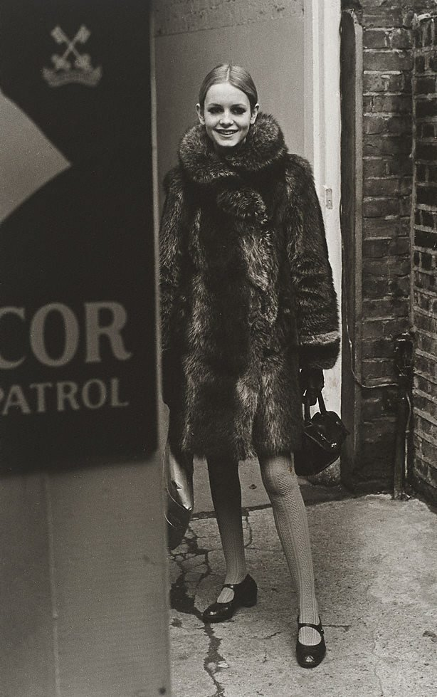 An image of Twiggy for 'London Life'