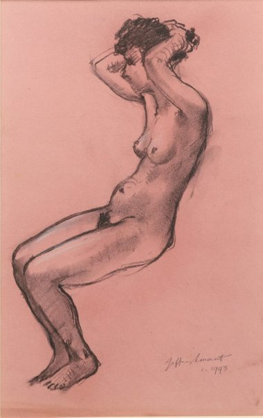 An image of Nude II by Jeffrey Smart