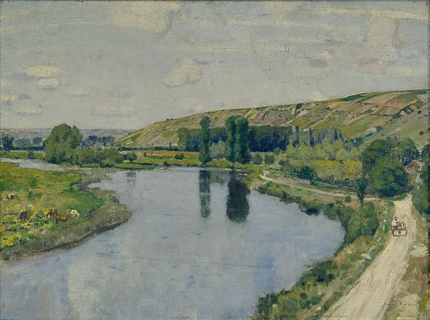 An image of The quiet river