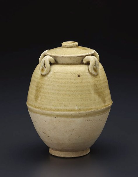 An image of Jar with cover by