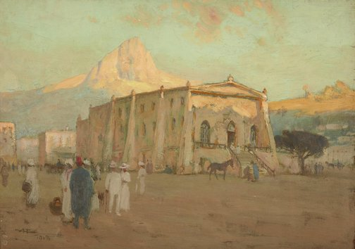 An image of Old slave market (Capetown) by A Henry Fullwood
