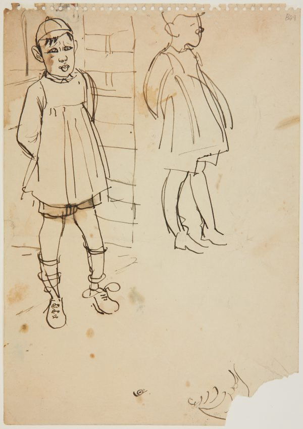 An image of (Little boy with smock) (London genre)