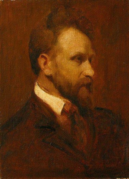 An image of Portrait of Arthur Streeton by Grace Joel