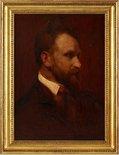 Alternate image of Arthur Streeton - a sketch-portrait by Grace Joel