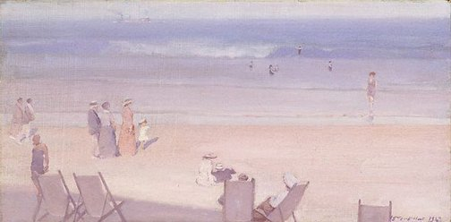 An image of The beach by Harley Griffiths Senior