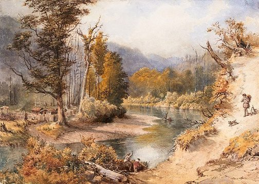 An image of Landscape by Nicholas Chevalier