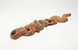 Alternate image of Two quiet snakes dreaming by Billy Stockman Tjapaltjarri