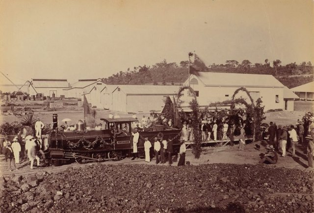 An image of Untitled (Port Darwin steam engine)