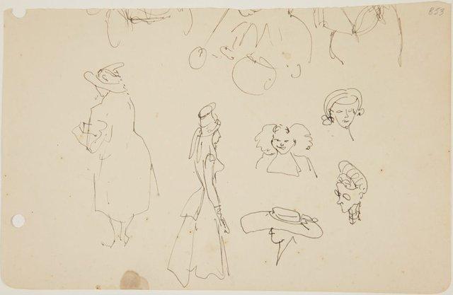 An image of (Studies of women) (London genre)