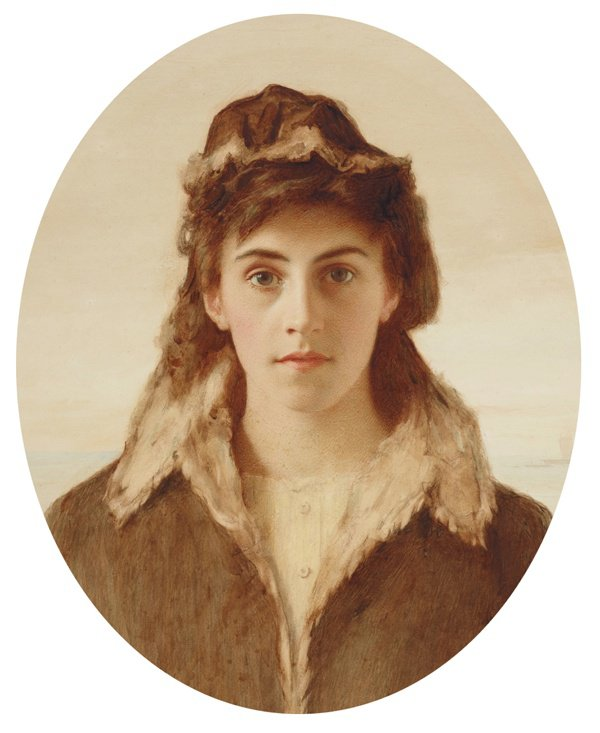 An image of The fisher girl