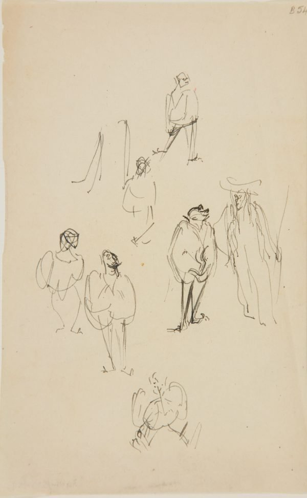 An image of (Figure studies) (London genre)