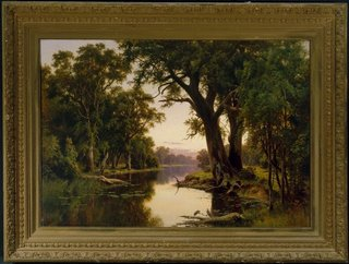 A billabong of the Goulburn, Victoria, (1884) by Henry James Johnstone