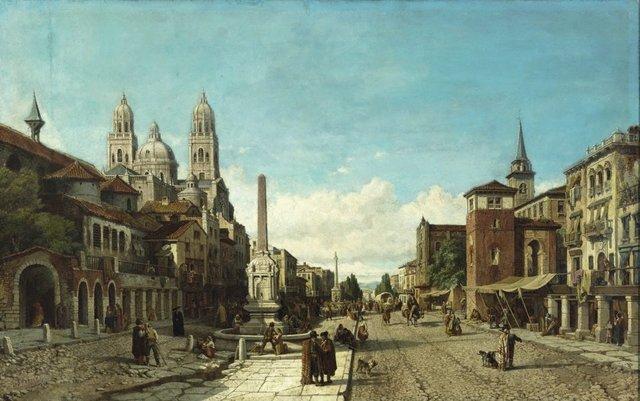 An image of La Place de la constitution