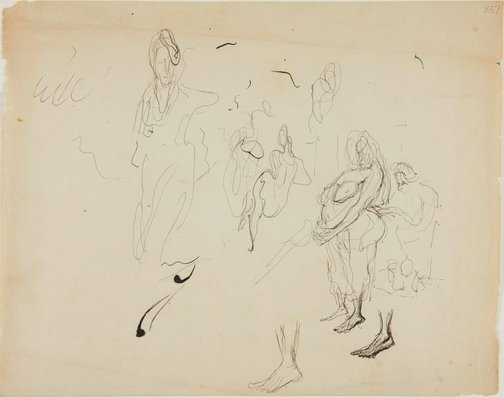An image of (Figure studies) (London genre) by William Dobell