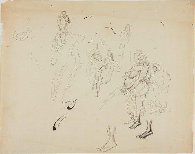 An image of (Figure studies) (London genre)