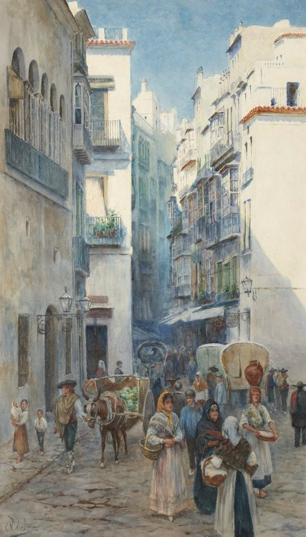 An image of A street in Valencia