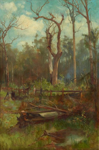 An image of The station boundary by A Henry Fullwood