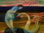 Alternate image of Leda and swan by Sidney Nolan