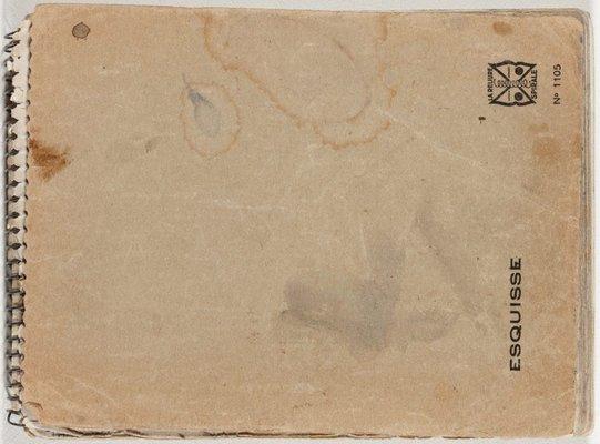 Alternate image of Sketchbook no. 12: Europe 1966 -1967 by Lloyd Rees