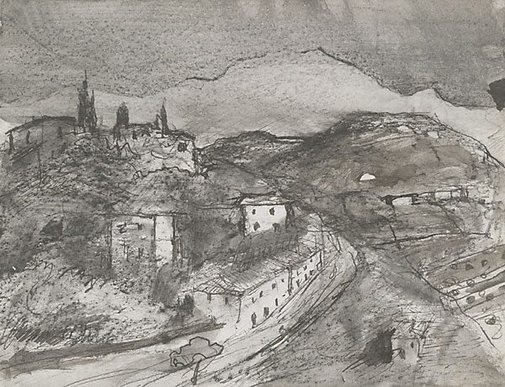 An image of Granada by Lloyd Rees