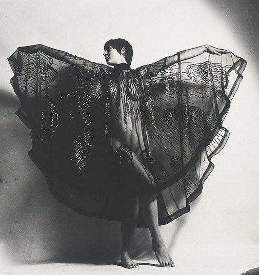 An image of Mog Smith, fashion designer, London by Lewis Morley