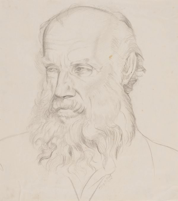 An image of Portrait study (Henry Gibbons)