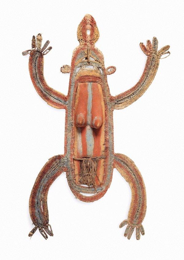An image of Timbu wara (ritual spirit figure)