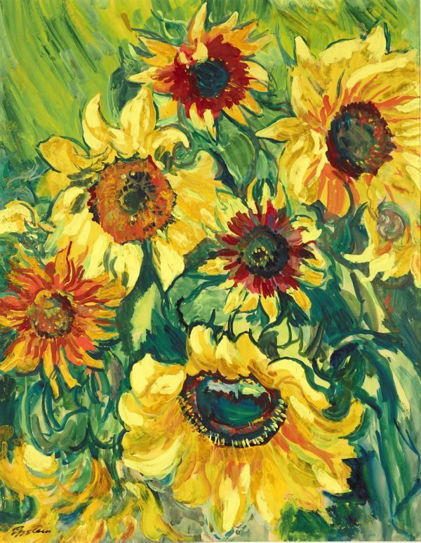 An image of Sunflowers