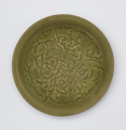 An image of Dish by Yaozhou ware