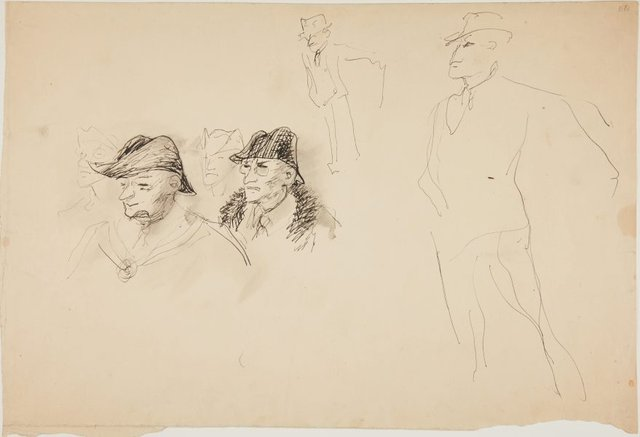 An image of (Head and figure studies) (London genre)