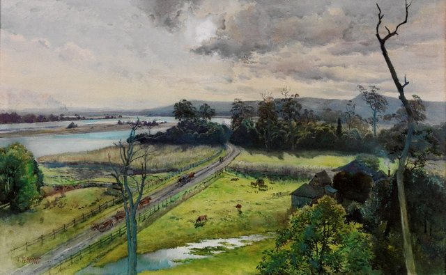 An image of Shoalhaven River, junction with Broughton Creek, New South Wales