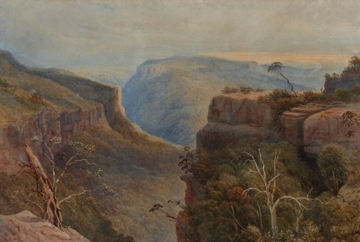 An image of Mount Victoria, New South Wales by E. B. Boulton