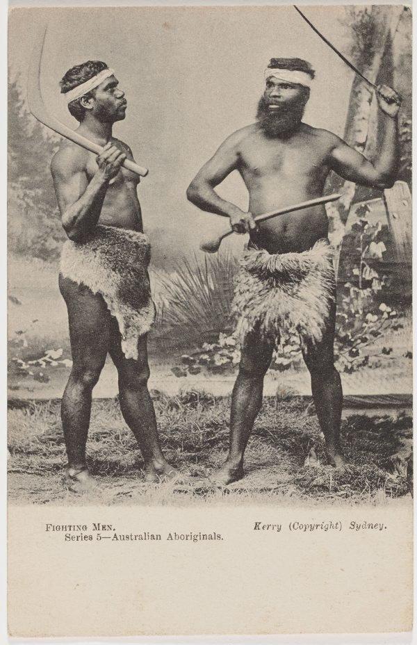 An image of Fighting men