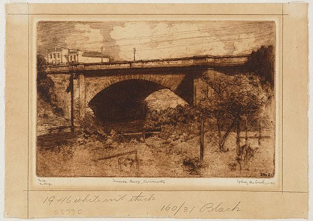 An image of Lennox Bridge, Parramatta