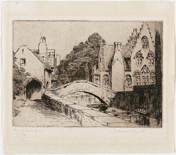 An image of Pont de Sucre, Bruges