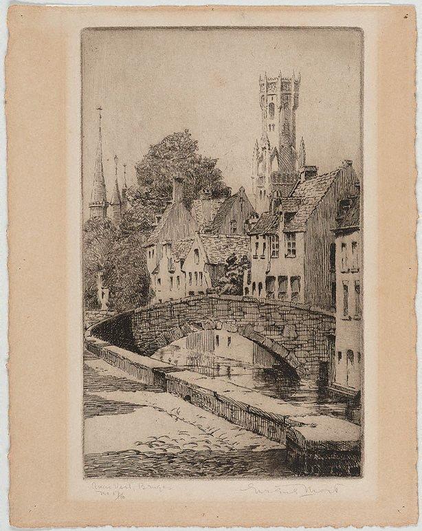 An image of Quai Vert, Bruges