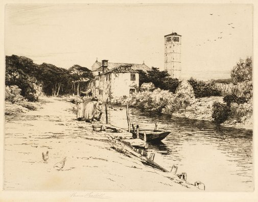 An image of Torcello by Percival Gaskell