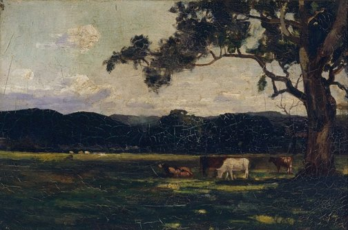 An image of Pastures, Bacchus Marsh by John Ford Paterson